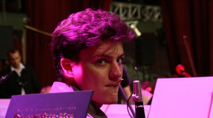 LNSO un Sinfonietta Rīga mūziķis, klarnetists Mareks Pinta.