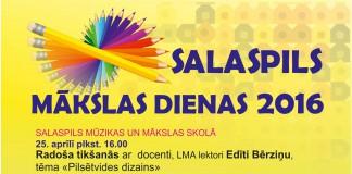Salaspils Mākslas dienas 25-27.aprīlis