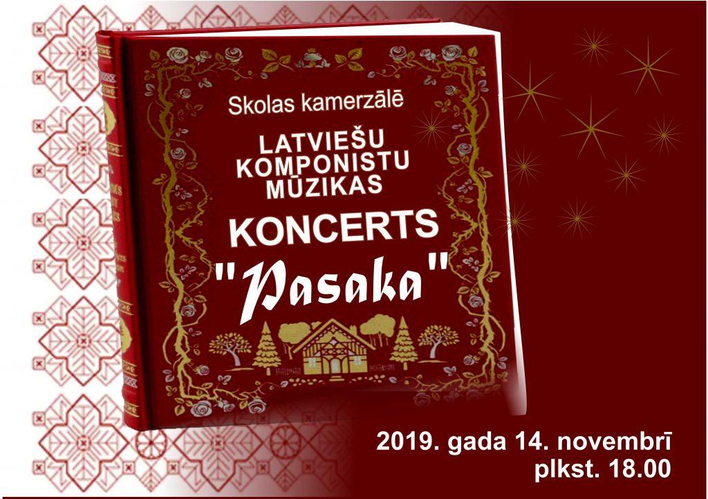 koncerts Pasaka