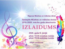 Izlaidums 2020. Salaspils Mūzikas un mākslas skola