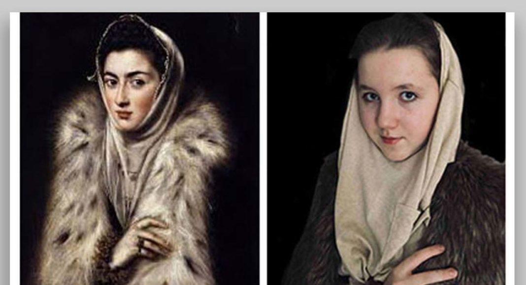 """El Greko """"Dāma ar kažokādas apkakli"""" / Interpretācija"""