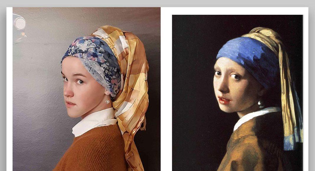 """Jans Vermērs """"Meitene ar pērļu auskaru"""" / Interpretācija"""