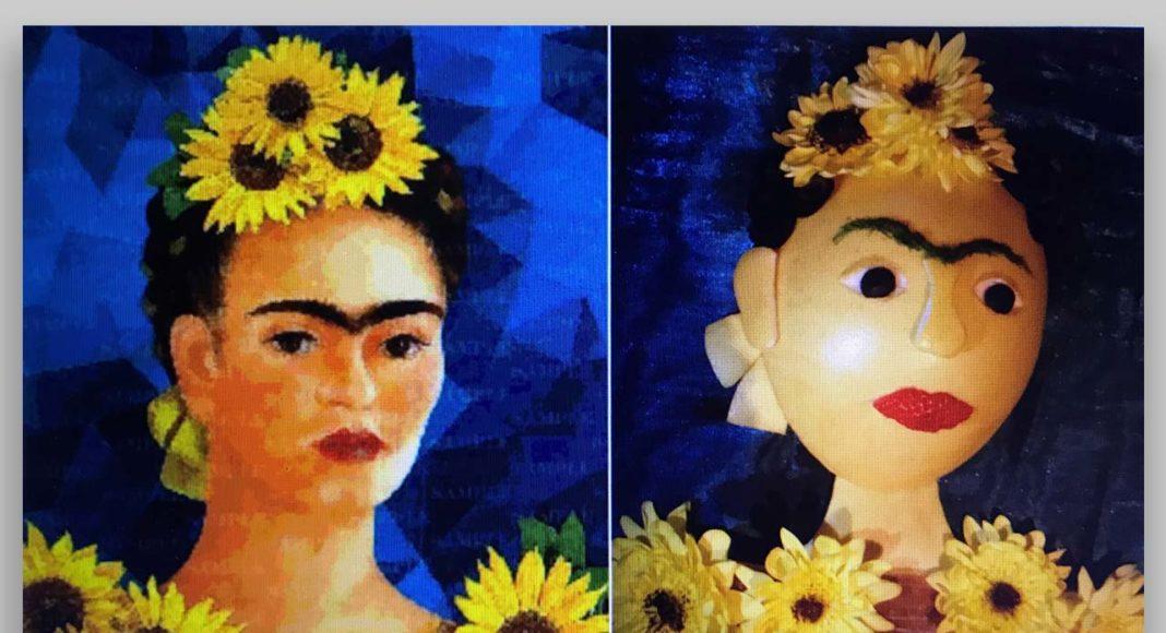 """Frida Kalo """"Pašportrets ar saulespuķēm"""" / Interpretācija"""