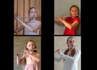 """Sadraudzības koncerts """"Mana mīļā flauta"""""""